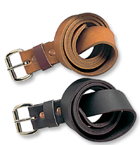 Harness Tan Moosehide Belts