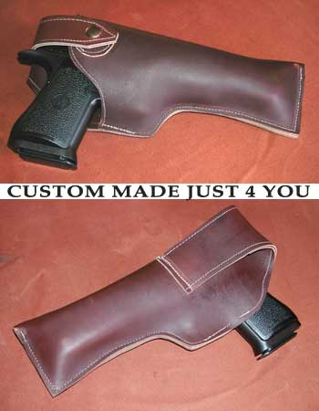 custome sewn holsters