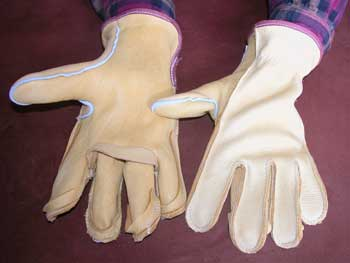 moosehide gloves